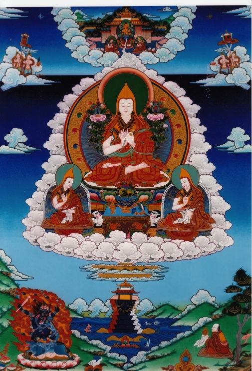 lama-tsong-khapa-and-disciples