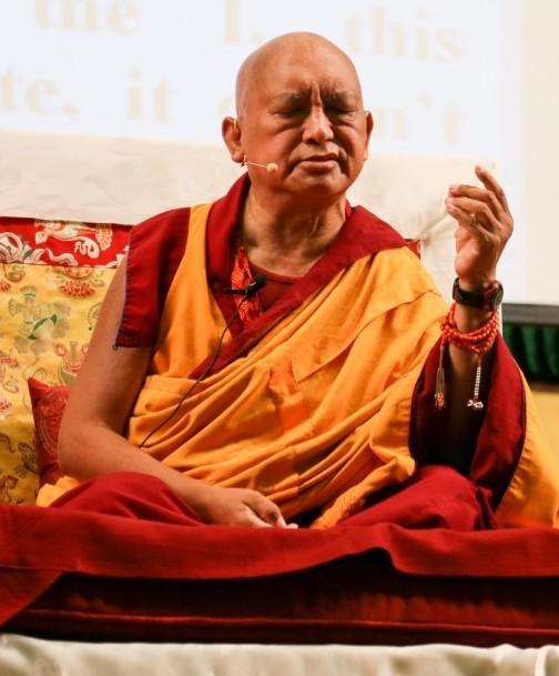cropped lama zopa teaching