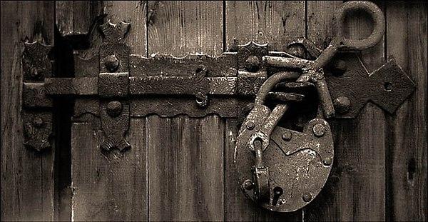 MONASTERY DOOR LOCK