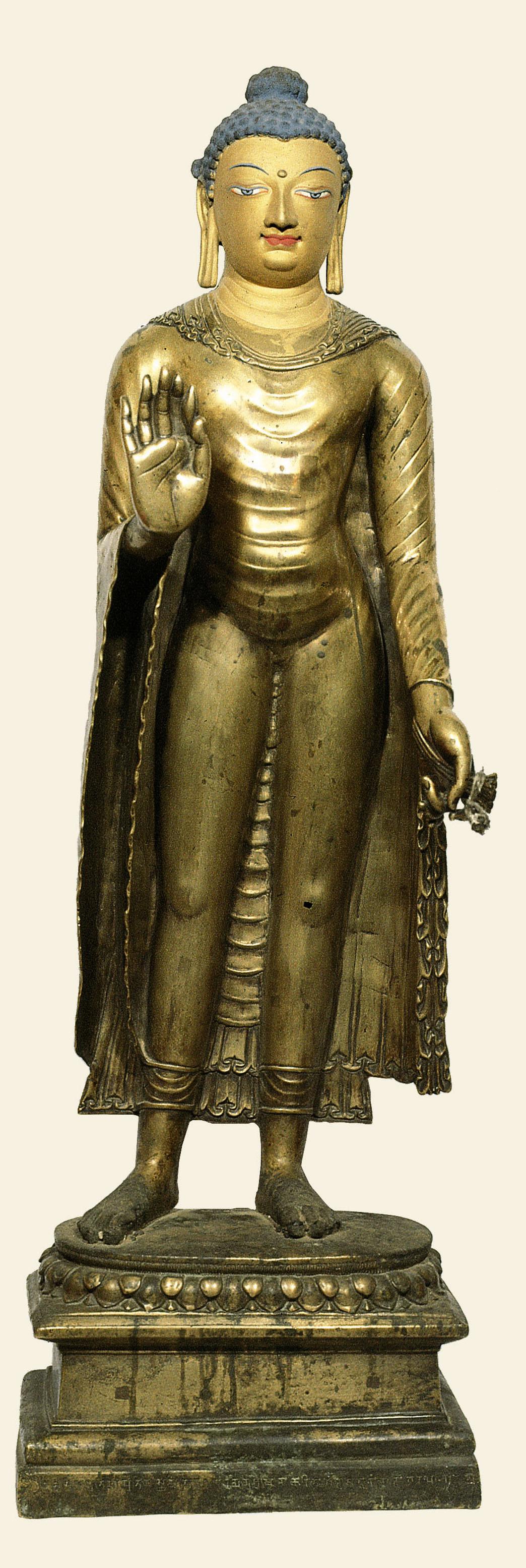 Buddha Shakyamuni, Kashmir, circa 650-700 ad copy