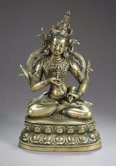 13th-14th-c-tibet-vajrasattva-brasssil-hemcrownturq-164-cm-christies