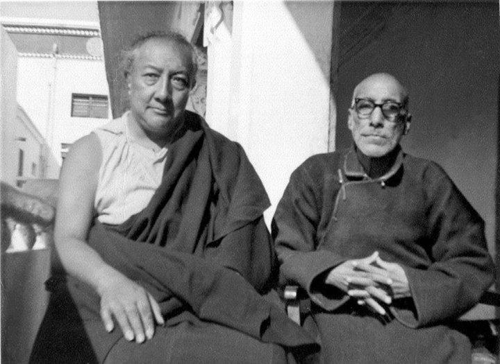 DilgoKhyentseRinpoche+KhunuLama