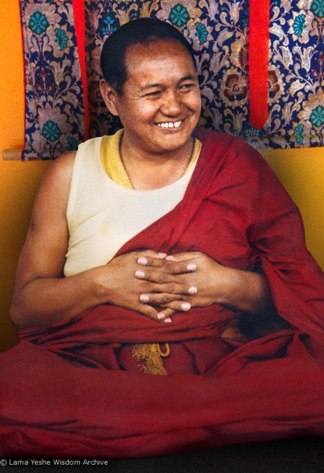 Lama Yeshe, Kopan, 1982