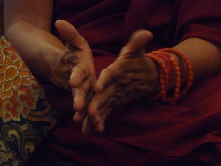 Lama Zopa Rinpoche hands2