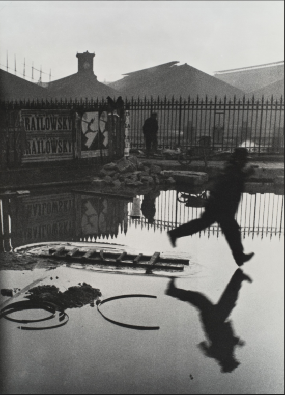 Henri Cartier Bresson Behing the Gare St. Lazarre, 1932